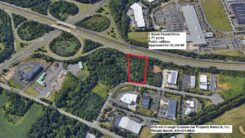 Aproved Development Site:  I-195 and Route 130, 2.77 acres, Hamilton Township